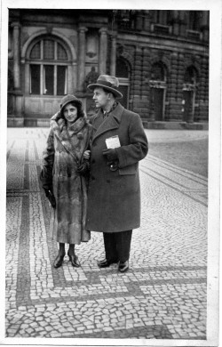 Franz Bodo en voyage de noces