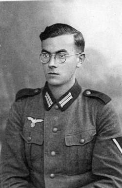 Franz von Beaulieu au quartier général de Berlin en 1942
