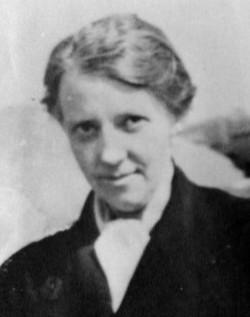 Elisabeth de Beau lieu, née Oelrichs,, peu de temps avant sa mort en avril 1943