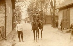 Franz von Beaulieu, officier vers 1904