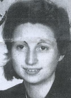 Photomaton de Ruth Lilienthal pris le 10 février 1943 à Berlin